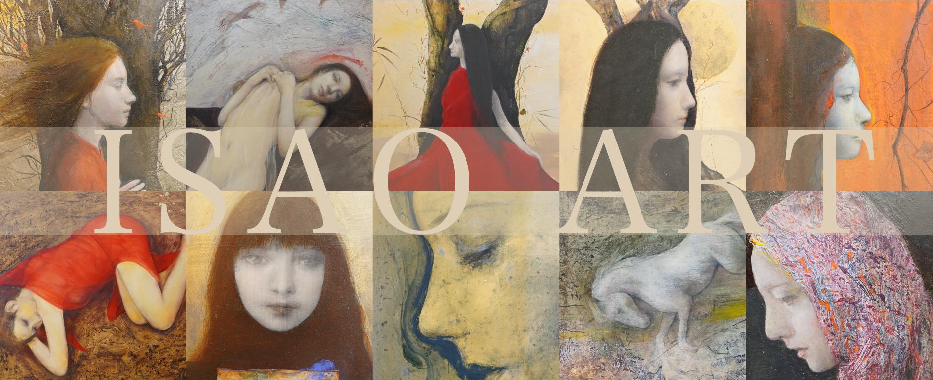 【ISAO ART vol.01】作品10点を公開。